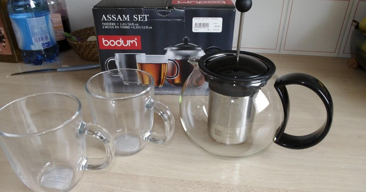 Savourer le thé: Test : Théière Bodum Assam