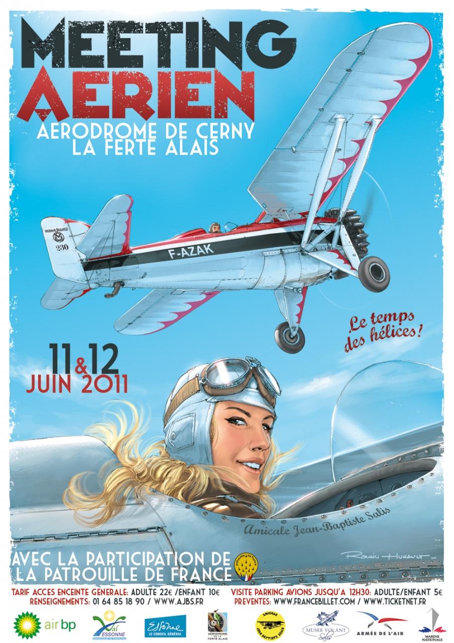 Affiches Aériennes  Meeting_aerien_2011