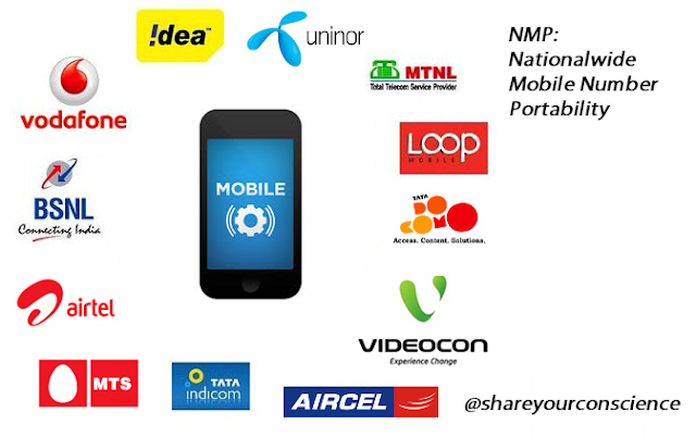 mobile number portability india process
