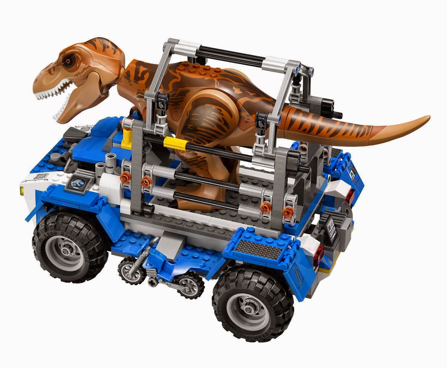 how to build a lego t rex