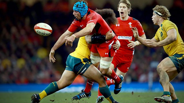 Australia and Wales Rugby
