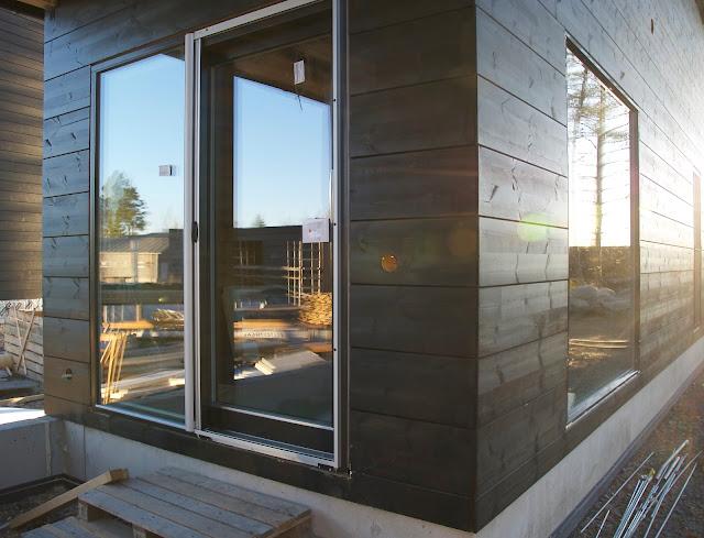 modern black sliding doors