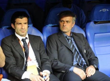 Mourinho Dukung Figo Jadi Presiden FIFA