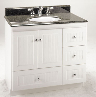 Fantastic Adler White Bathroom Vanity VAN06648  Bathroom Vanities  Bath