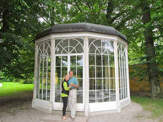 'Sound of Music' Gazebo - Hellbrunn Palace, Austria
