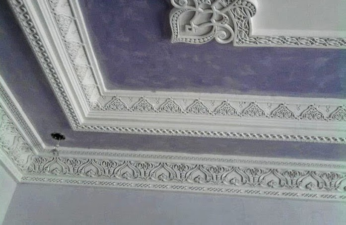 La medina d coration de faux plafond pl tre orientale for Decoration plafond platre france