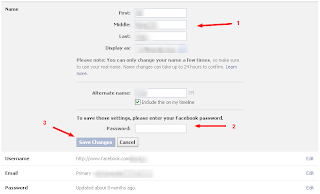 Bagaimana Cara Mengganti Nama Facebook