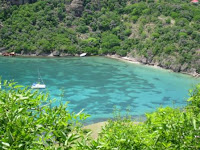 Les Saintes, baie de Marigot