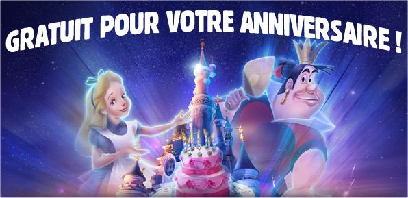 Visuel d'illustration de l'article Billet gratuit pour Disneyland Paris : découvrez l'offre anniversaire