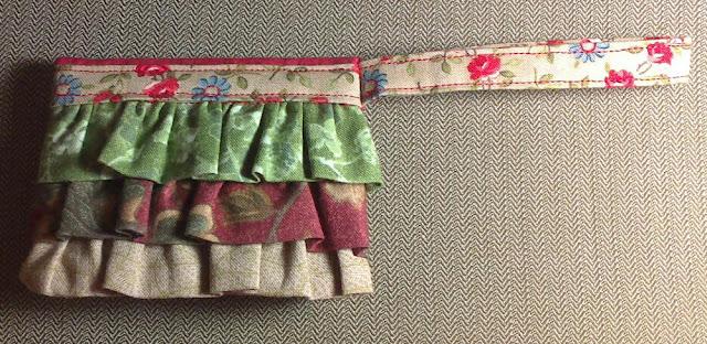 Cartera patchwork