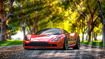 2013 Aston Martin DBC Concept HD Wallpapers
