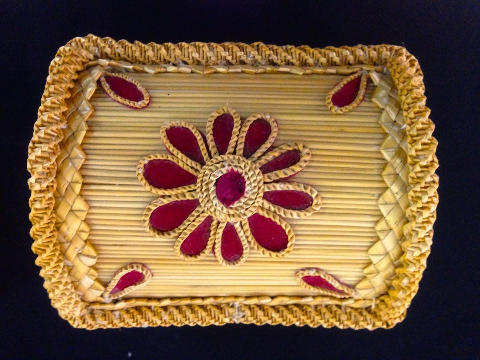 Exposición permanente de cestería popular ibérica. Caballar (Segovia)