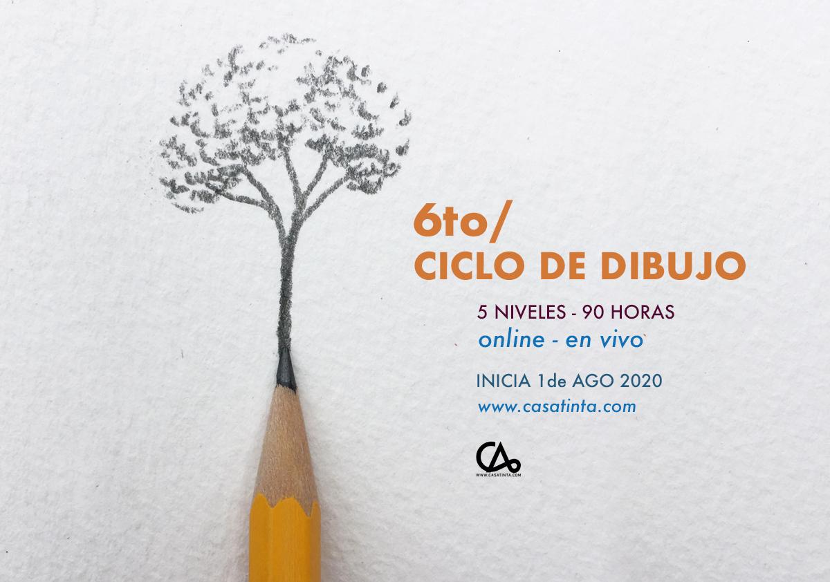 CICLO DE DIBUJO // 1 de ago