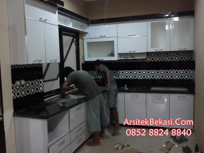Desain interior modern desain interior minimalis desain for Pemasangan kitchen set