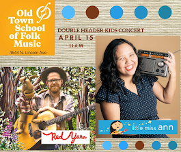WIN 4 Tickets To See Little Miss Ann & Red Yarn at Chicagos Old Town School of Folk Music & CDs
