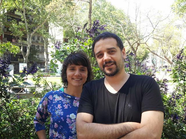 Malena Serur y Marcelo Cotton. Foto.