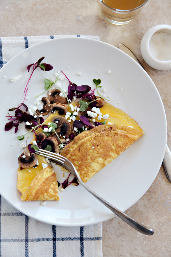 Omelet | Bay Area Food Photographer