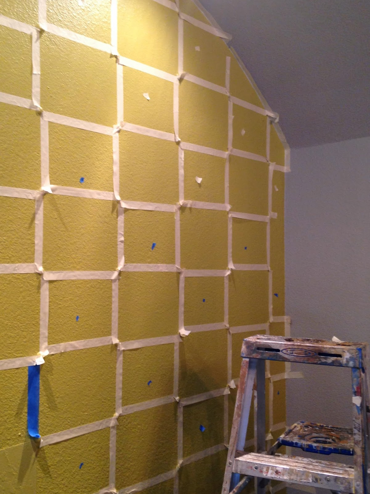 how to paint a checkered wall | My Web Value