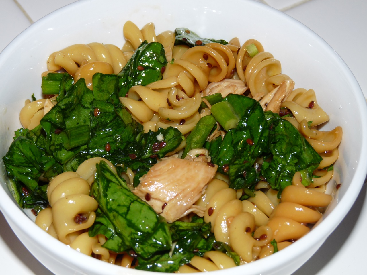 Heart Food & So Can You: Sesame Chicken Pasta Salad