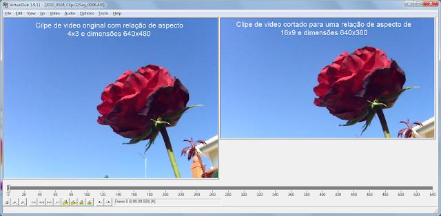 VirtualDub -  corte de video - passo 8 - visualização