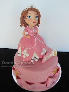 sofia princess disney cake bragança portugal