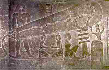 TEMPLE OF DENDERA ELECTRICITY