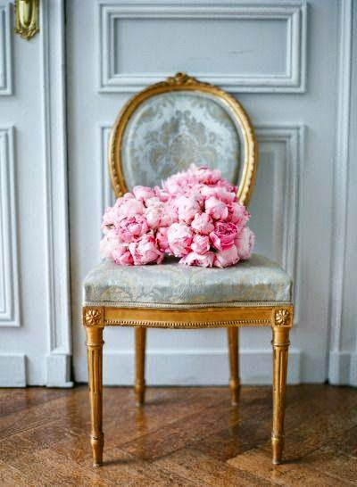 A touch of elegance with some pink peonies!