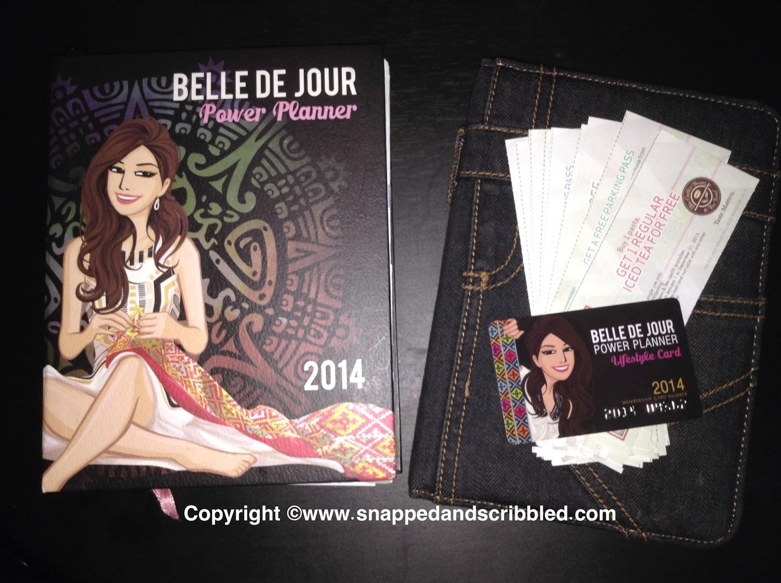 Belle De Jour Power Planner 2014