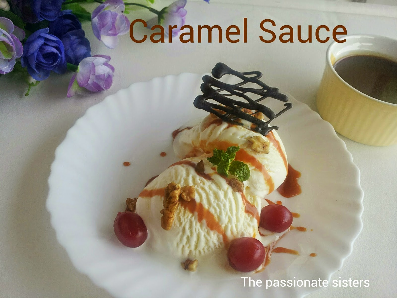 Caramel Sauce without cream