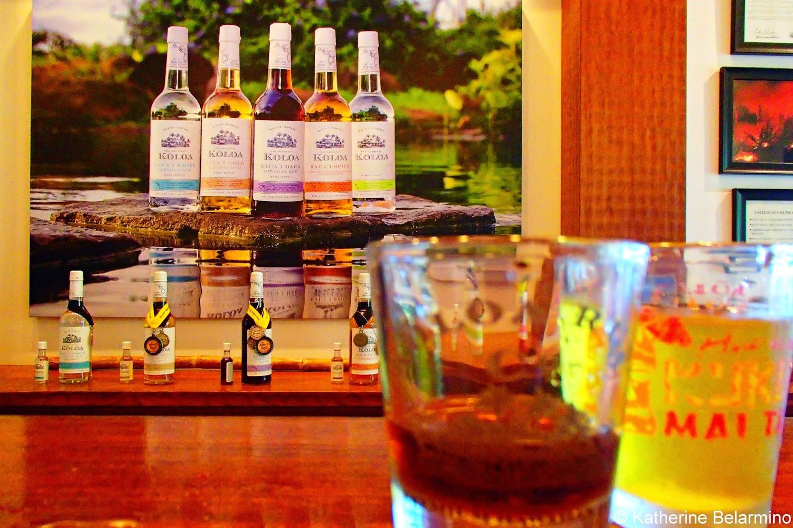 Koloa Rum Company Kauai Dark Rum Kauai Hawaii