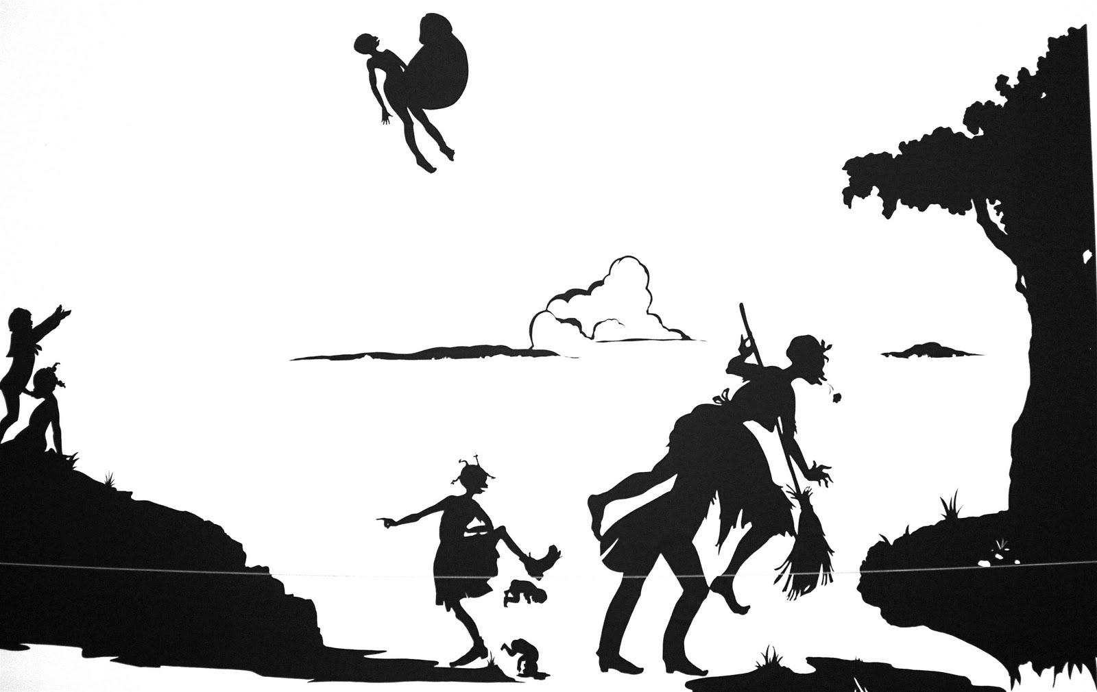 Kara walker silhouettes