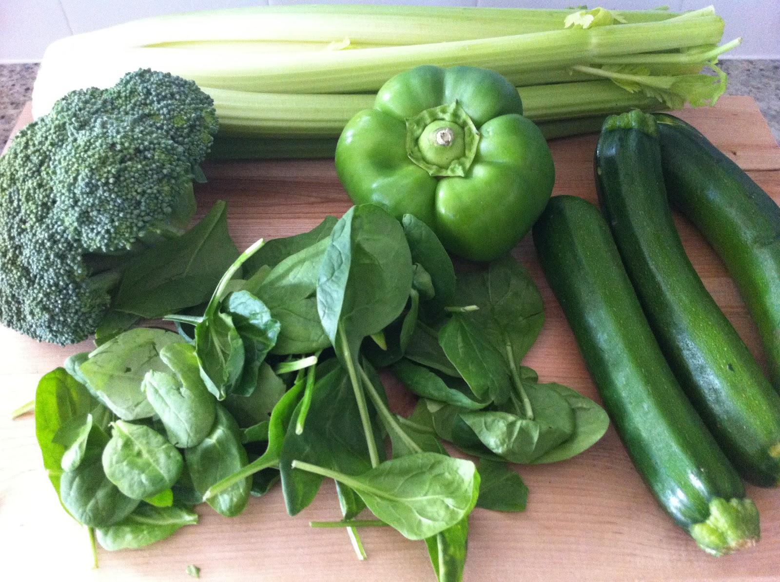 Playing With My Food!: Souper Sunday #1: Green Vegetable ...