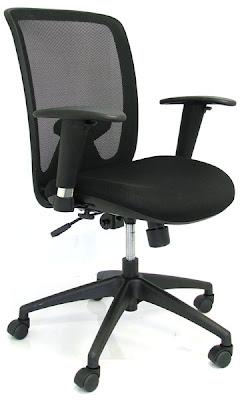 Mobiliario deco mobiliario de oficina diez sillas for Sillas de escritorio ergonomicas
