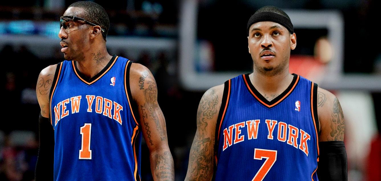 Carmelo and Amare