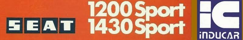 SEAT 1200 / 1430 Sport 'Bocanegra'