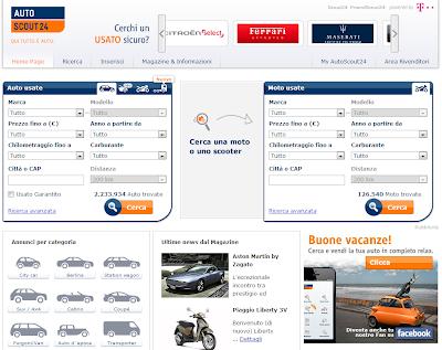 AutoScout24 - Il migliore sito per vendere o acquistare auto usate online!