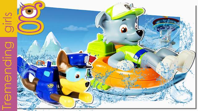Juguetes Baño Patrulla Canina Nadadora - Paw Patrol juguetes