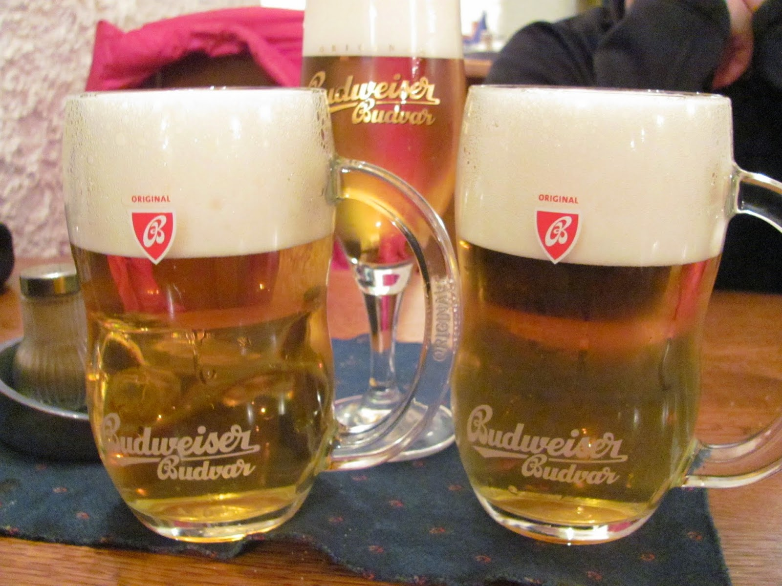 Budweiser in Prague