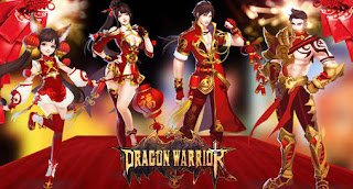 Screenshots of the Dragon warrior for Android tablet, phone.