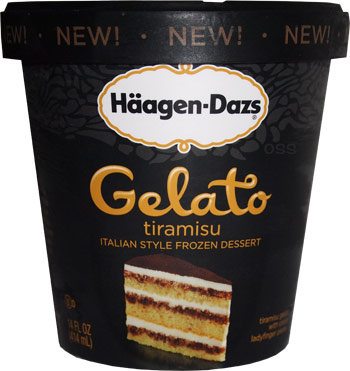 On second scoop ice cream reviews haagen dazs tiramisu for Gelati haagen dazs
