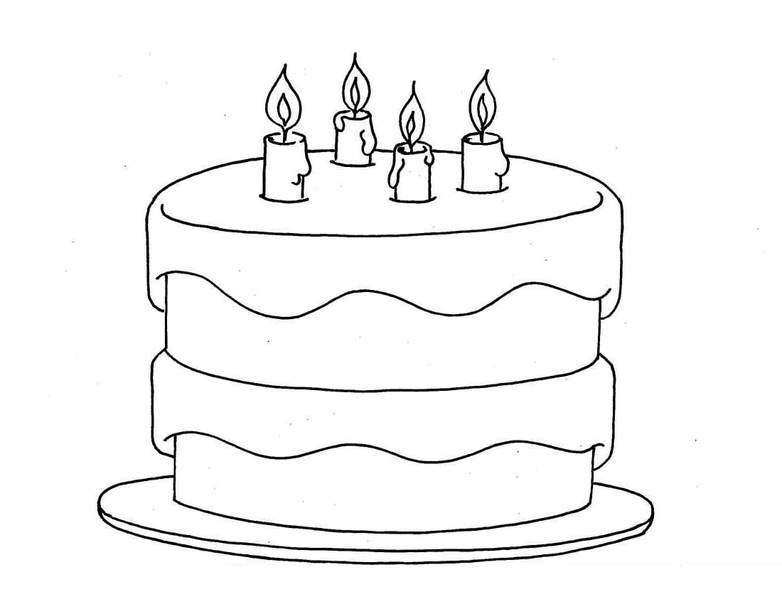 menggambar ulang tahun gambar kue ulang tahun untuk diwarnai gambar kue ulang tahun buat