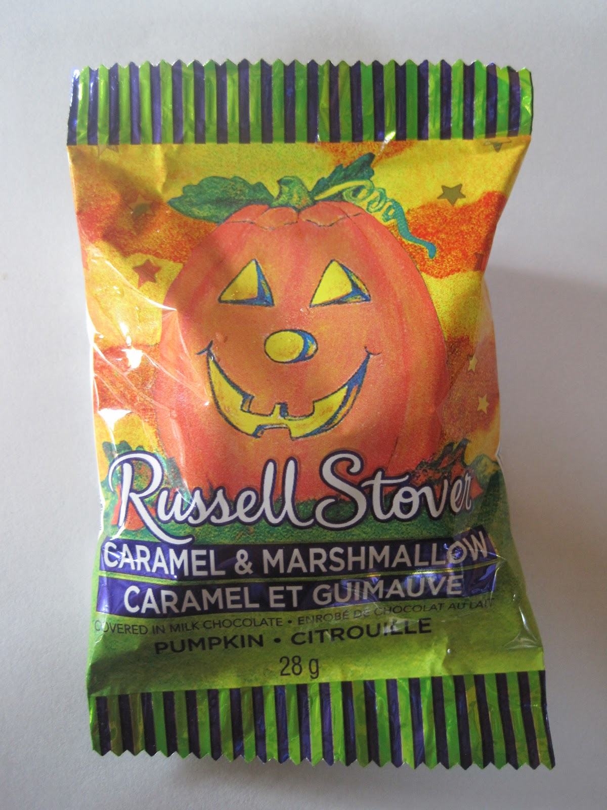 walking the candy aisle: russell stover caramel & marshmallow