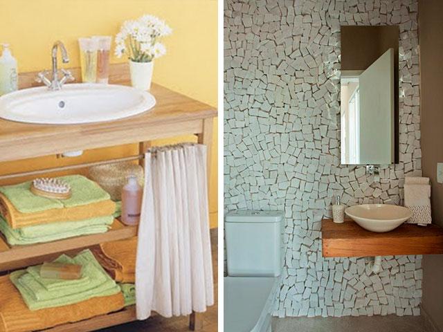 Inspiração aparador para pia do banheiro  Vida Louca de Casada  Blog sobre -> Pia De Banheiro Barata