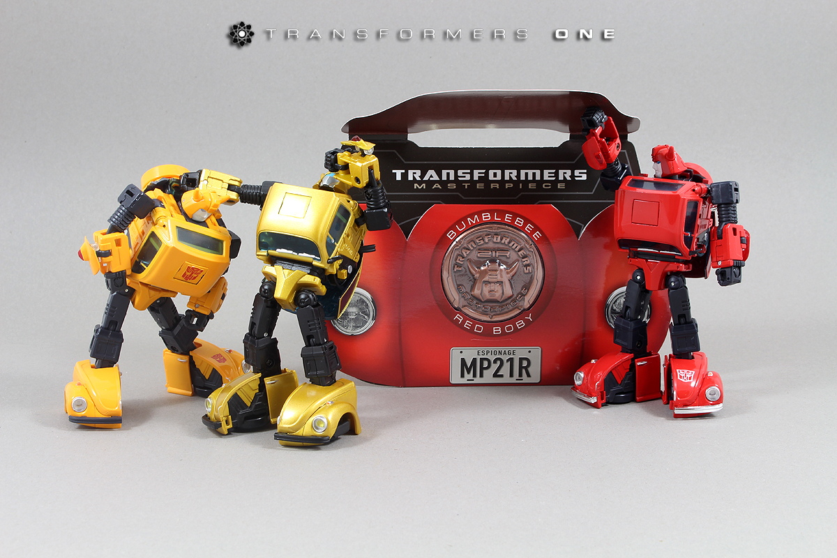 Masterpiece MP-21R Bumble Red Body Article Redbee23x