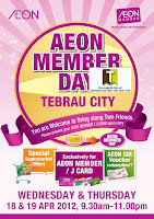 AEON Member Day Tebrau City 2012
