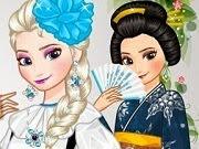 Frozen Elsa Around the World