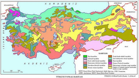 T�rkiye Toprak Haritas�