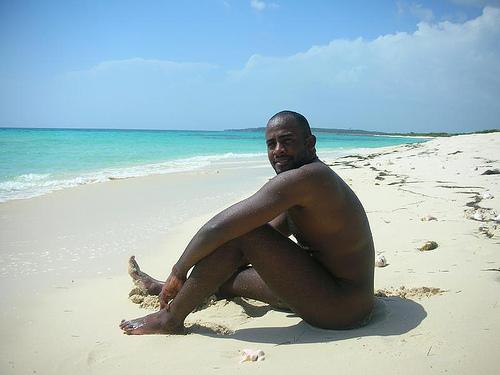 naked black man ass