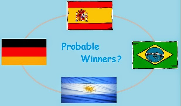 FIFA World Cup 2014 - Probable Winners