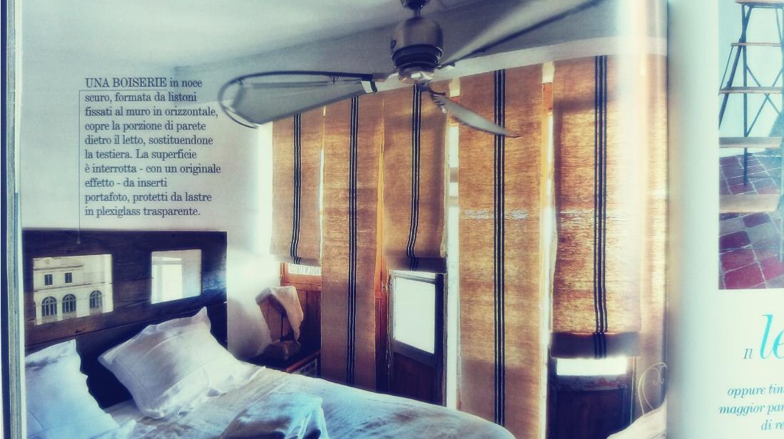 Sypialnia i pomysłowe rolety